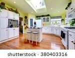 perfect kitchen with white... | Shutterstock . vector #380403316