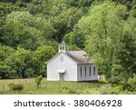 A Small White Church Building...