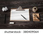 workplace for artist ... | Shutterstock . vector #380409064