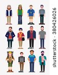 hipsters   Shutterstock .eps vector #380426026