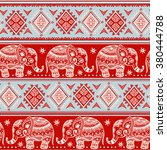 vintage graphic vector indian... | Shutterstock .eps vector #380444788