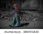 a selective color shot of a... | Shutterstock . vector #380451820