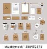 corporate branding identity... | Shutterstock .eps vector #380452876