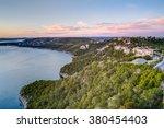 Luxury Houses On The Coast Of...
