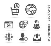 seo and advertising icons pack | Shutterstock .eps vector #380472499