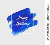 modern calligraphy brush script ... | Shutterstock .eps vector #380494030