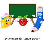 back to school illustration | Shutterstock .eps vector #380510494