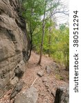 Large Rock  Rocky Cliff In A...