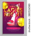 Ladies Night Party Flyer ...