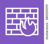 firewall | Shutterstock .eps vector #380534593