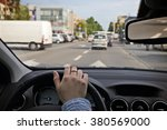 drive car in the city | Shutterstock . vector #380569000