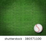 baseball on the field | Shutterstock . vector #380571100
