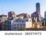 cairo  egypt  city view photo... | Shutterstock . vector #380574973