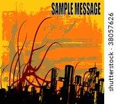 urban abstract   Shutterstock .eps vector #38057626