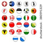 switzerland cantonal flag... | Shutterstock .eps vector #380591329
