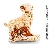 Chinese Culture Figurine  Goat...