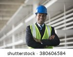 portrait of a male indian ... | Shutterstock . vector #380606584