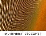 Macro View Of Orange Led Scree...