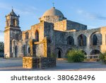 water well at mission san jose...   Shutterstock . vector #380628496