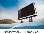 blank scoreboard in outdoor... | Shutterstock . vector #380659528