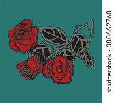 rose | Shutterstock .eps vector #380662768