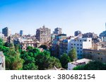cairo  egypt  city view photo... | Shutterstock . vector #380682154