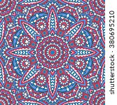 seamless oriental ornamental...   Shutterstock .eps vector #380695210