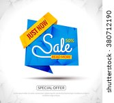 sale tags graphic elements in... | Shutterstock .eps vector #380712190