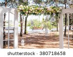Wedding Arch In The Style Of...