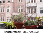 window view  european houses... | Shutterstock . vector #380726860