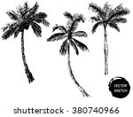 vector illustration of palm... | Shutterstock .eps vector #380740966