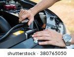 auto mechanic checking car... | Shutterstock . vector #380765050