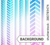 chevron pattern background.... | Shutterstock .eps vector #380785474