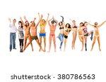 together we celebrate success... | Shutterstock . vector #380786563