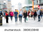 lots of people  tourists and... | Shutterstock . vector #380810848