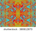 beautiful abstract pattern.... | Shutterstock . vector #380812873