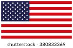 flag of the united states.... | Shutterstock .eps vector #380833369