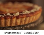 French Apple Tart With White...