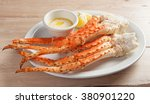 Clusters Of Fresh Snow Crab...