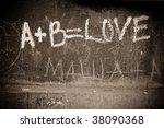 simple mathematics | Shutterstock . vector #38090368