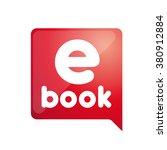 e  book. electronic library icon | Shutterstock .eps vector #380912884