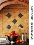 ingredients for cooking pasta... | Shutterstock . vector #38092291