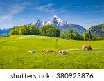 Idyllic Summer Landscape In The ...