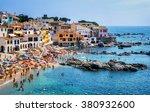 calella de palafrugell ... | Shutterstock . vector #380932600