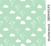 seamless pattern clouds and... | Shutterstock .eps vector #380949193