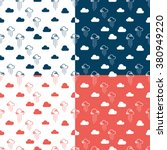 seamless pattern clouds and... | Shutterstock .eps vector #380949220