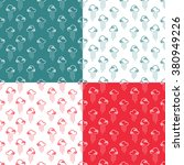 seamless pattern clouds and... | Shutterstock .eps vector #380949226