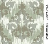 native cloth damask pattern... | Shutterstock .eps vector #380953966