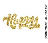 hand lettering inscription ... | Shutterstock .eps vector #380955559