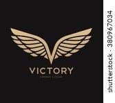 Victory Logo Wing Logo V Lette...